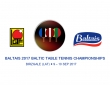 Baltais 2017 Baltic Table Tennis Championships